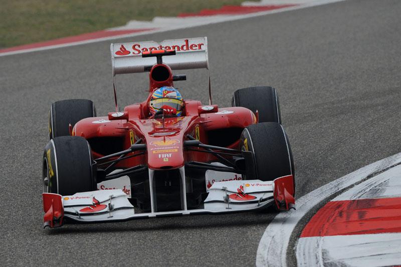 Alonso foi mais de 0s8 mais lento em 2011 em relação ao GP da Austrália do ano passado