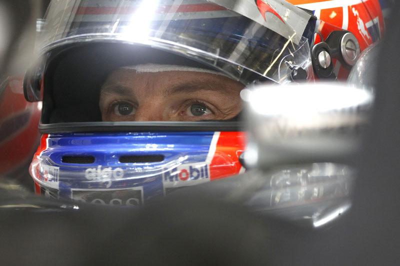 Button está preocupado com os pneus na Turquia