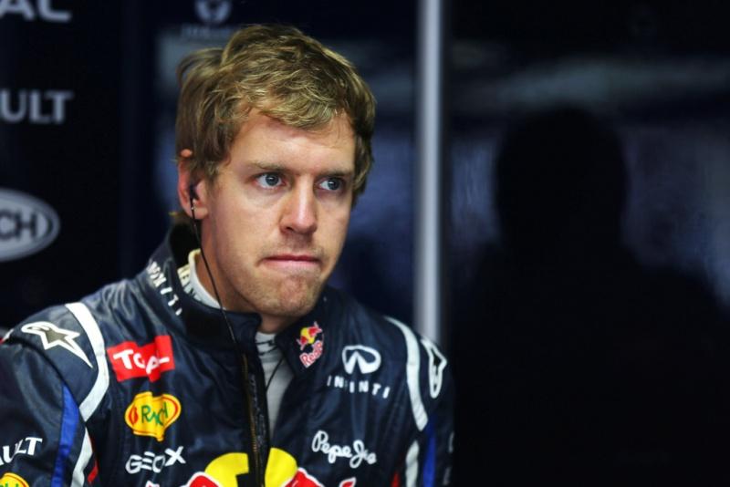 Vettel não ficou satisfeito com o 2º lugar