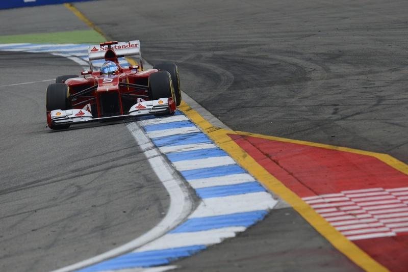 Alonso está se firmando na liderança