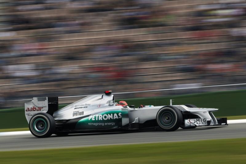 Schumacher é sétimo em Hockenheim