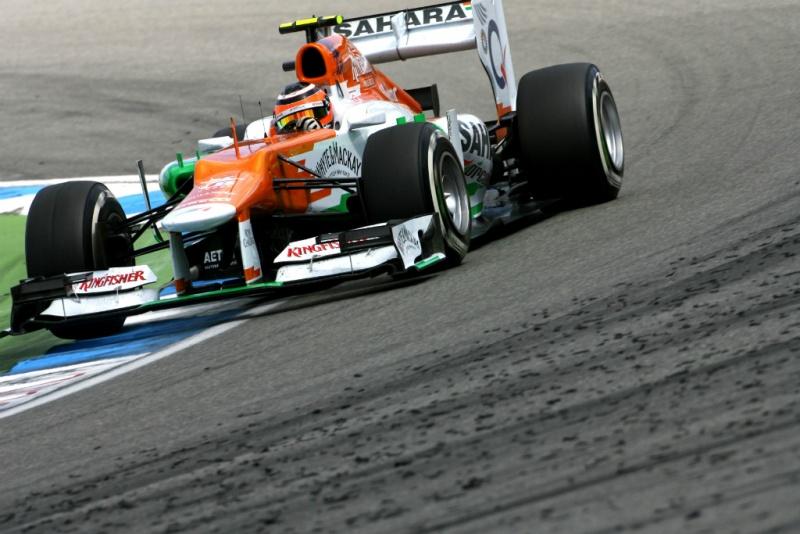 Hulk foi o melhor da Force India em Hockenheim