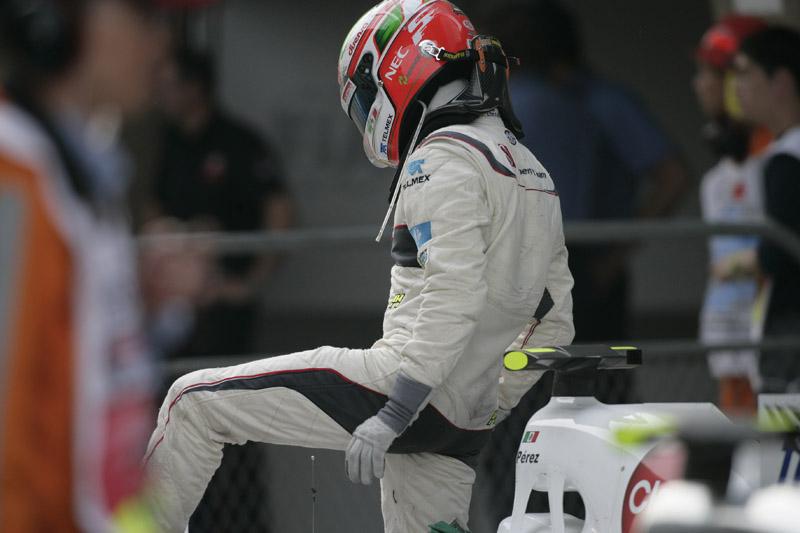 Sergio Perez faz na Turquia apenas sua quarta corrida na Fórmula 1