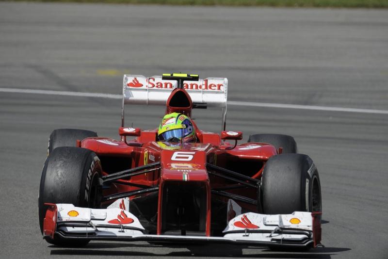 Massa não foi bem na Alemanha