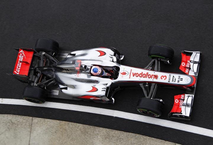 Jenson Button em Hockenheim
