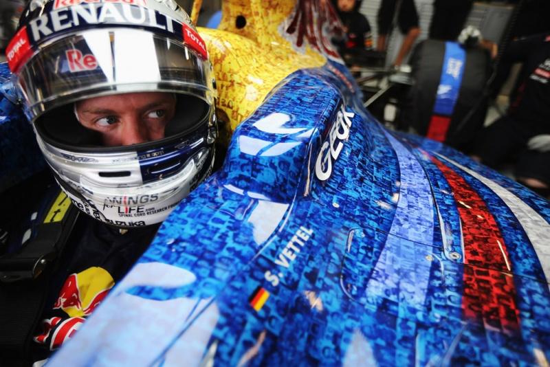 Vettel se envolveu em polêmicas na Alemanha