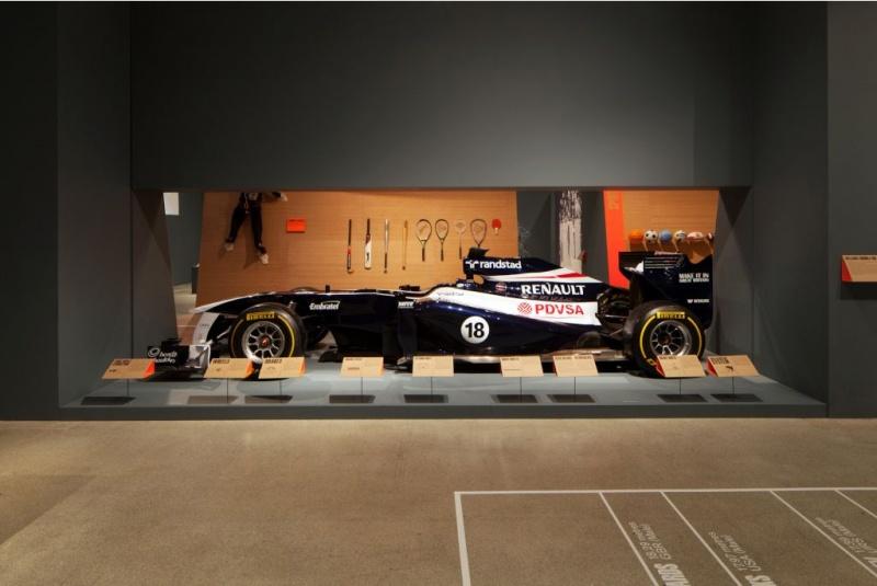 Carro de Maldonado exposto no Museu do Design