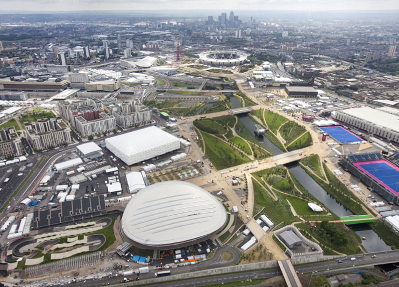 O Parque Olímpico de Londres