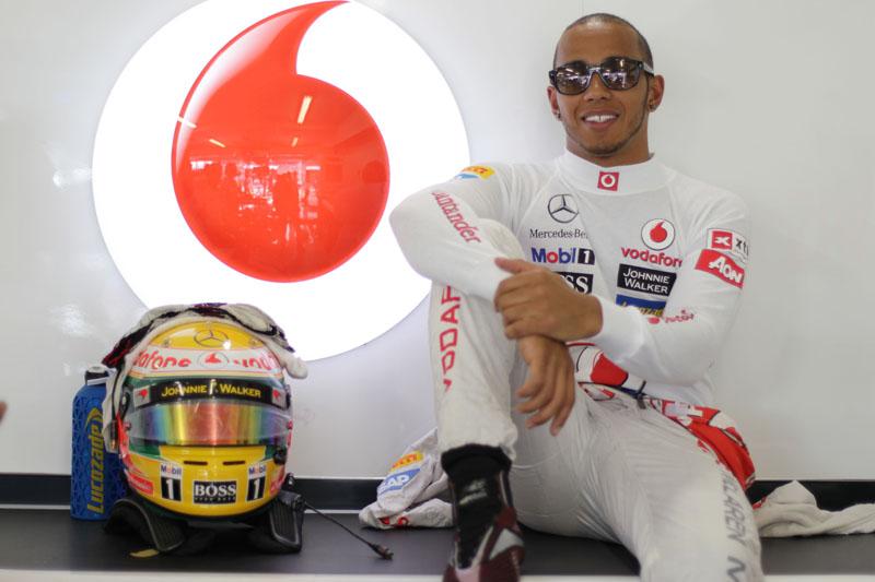 Hamilton é quarto colocado no mundial