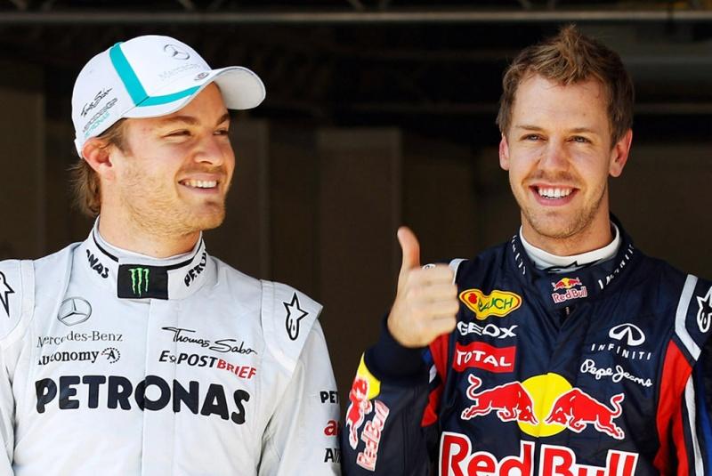 Vettel aprova trabalho de Nico Rosberg