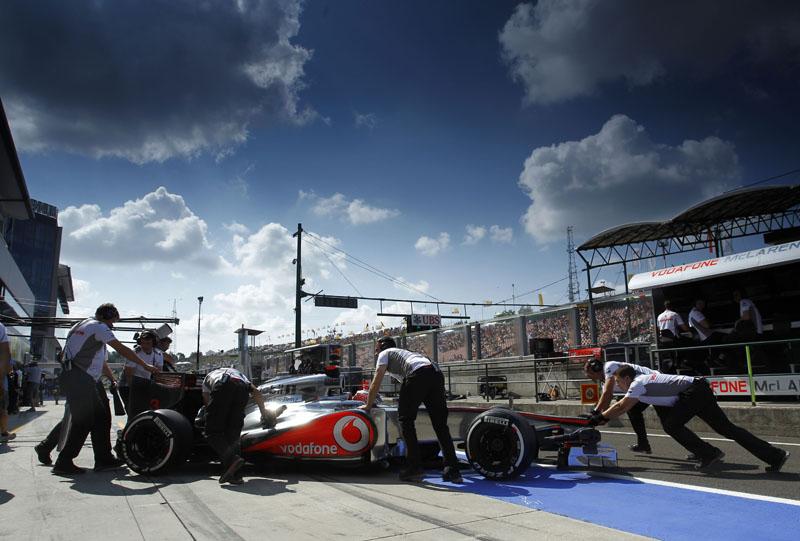 A McLaren fez 51 pontos nos últimos 2 GPs
