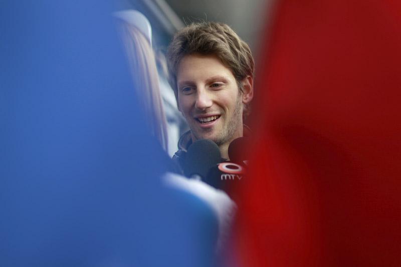 Grosjean é oitavo no mundial