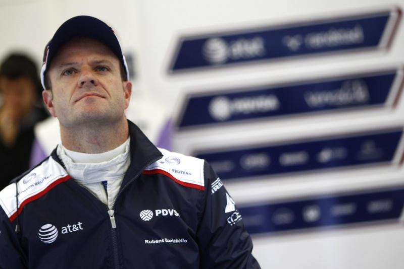 Barrichello, em 2011, na Williams