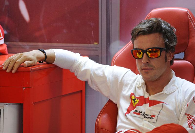 Alonso tem 42 pontos de vantagem para Webber