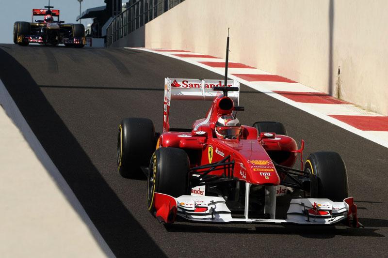 Jules Bianchi testou com a Ferrari ano passado em Abu Dhabi