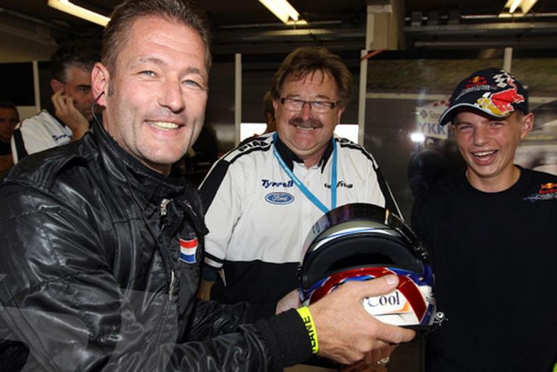 Jos Verstappen retorna às pistas em outubro