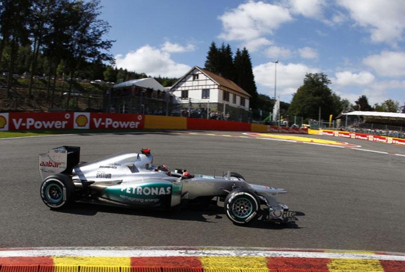 Schumacher em seu 300º GP