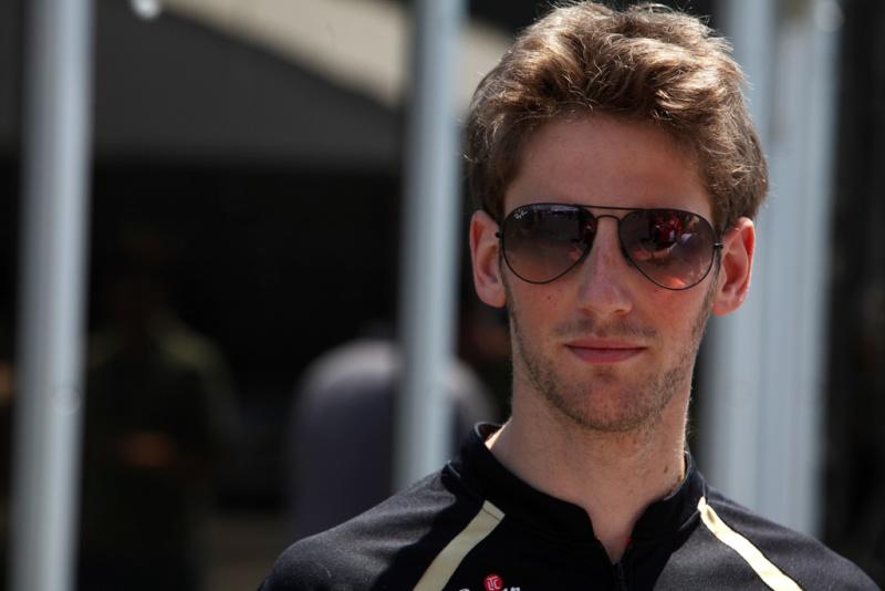 Grosjean foi o vilão no GP da Bélgica
