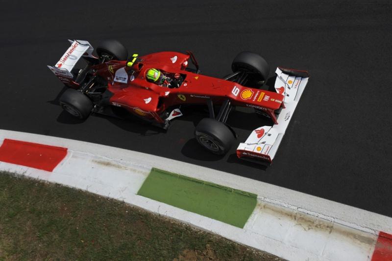 Massa ficou feliz com o dia de hoje em Monza