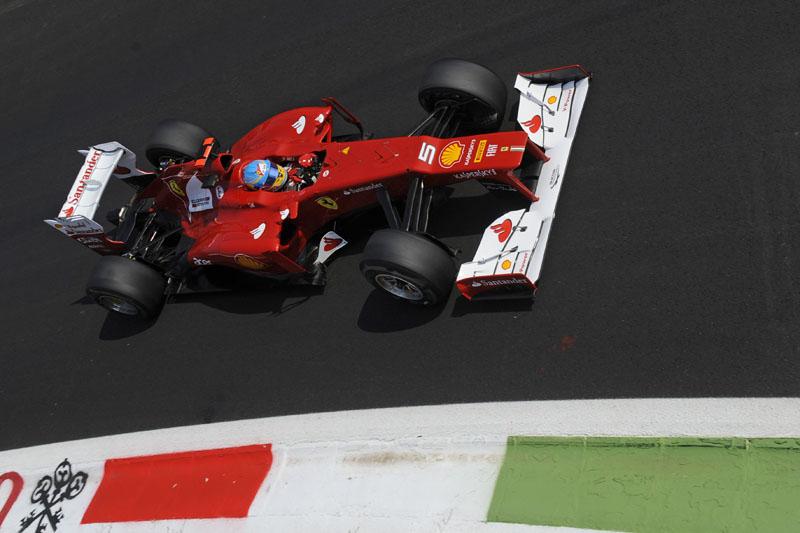Alonso sai em 10º em Monza