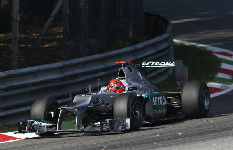 Schumacher em Monza