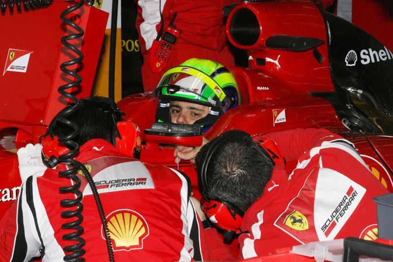 Massa foi quase oito décimos melhor que Alonso