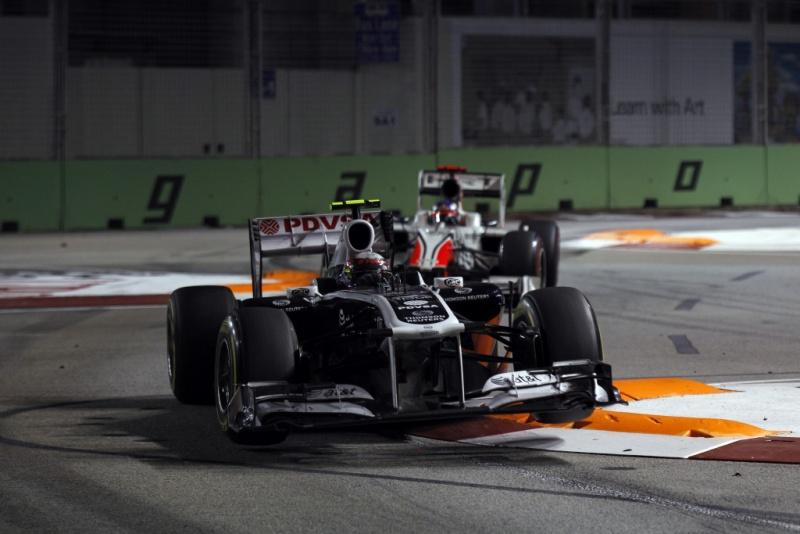 Maldonado foi 11º em Cingapura em 2011