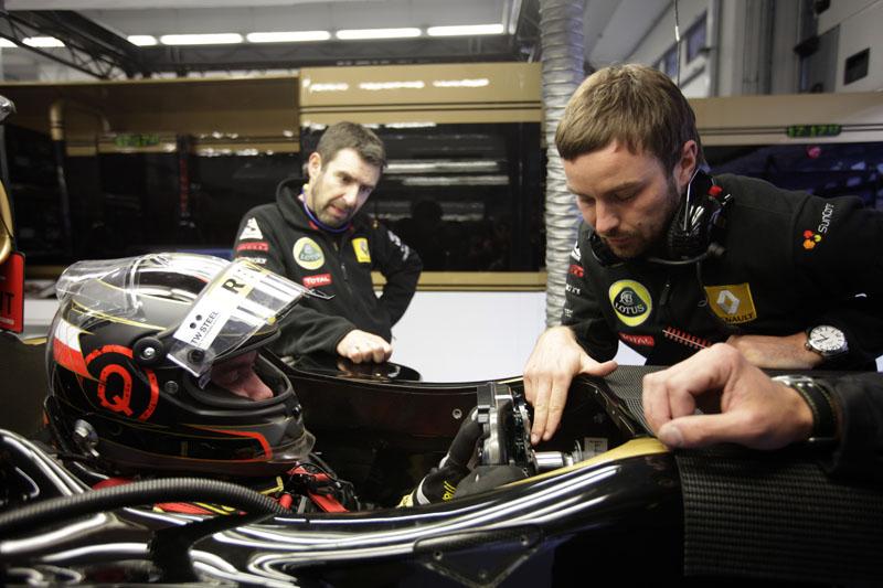 Heidfeld aprovou os pneus de chuva da Pirelli
