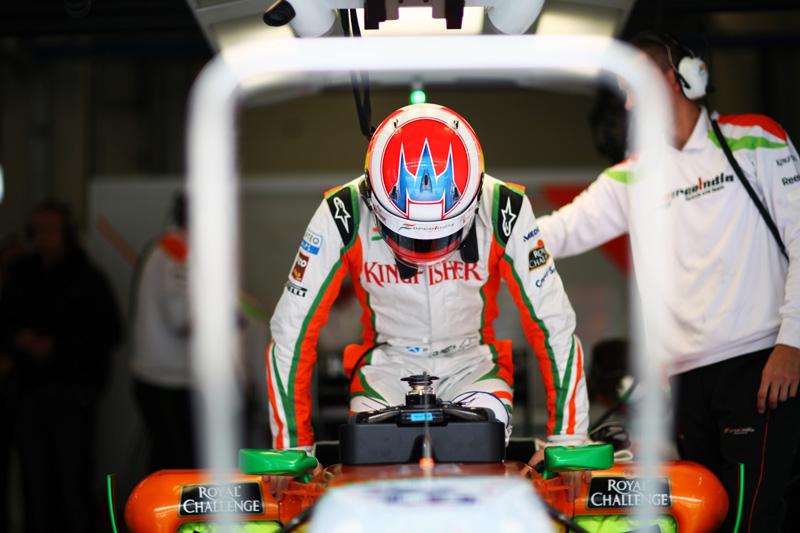 Ambas as Force India deram 37 voltas somente na segunda sessão de treinos