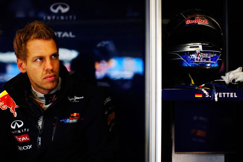Vettel: desta vez, treino apenas pela televisão