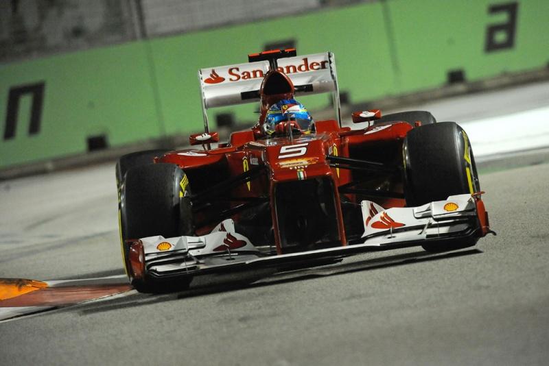 Alonso em ação nesta sexta-feira