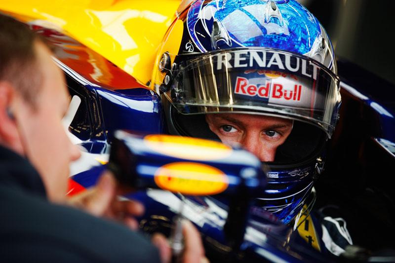 Antes desta sessão de treinos livres, Vettel havia completado apenas quatro voltas