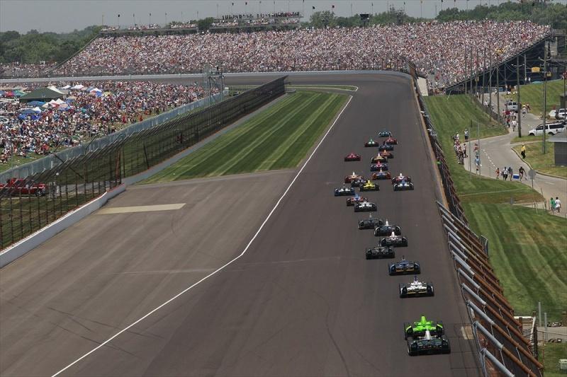 Indy 500 será dia 26 de maio
