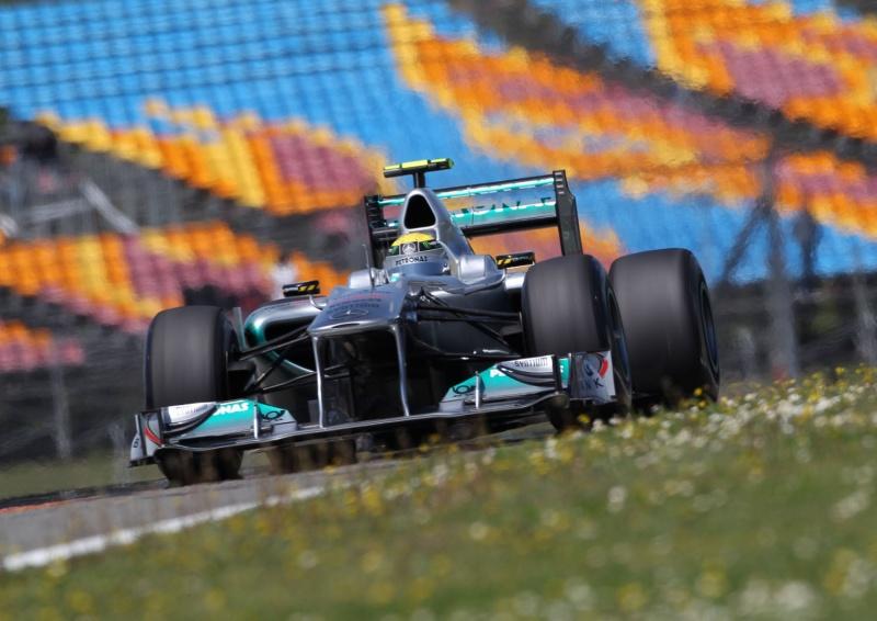 Rosberg: impressionando no circuito de Istambul Park