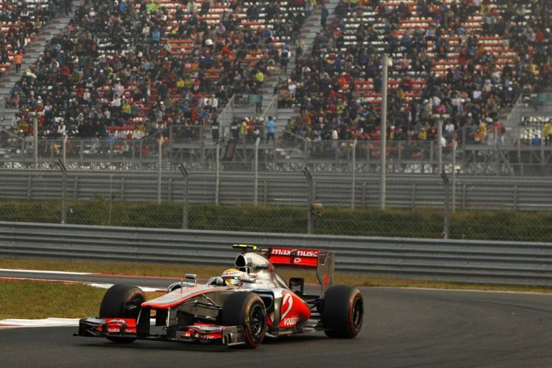 Hamilton foi apenas o 10º na Coreia