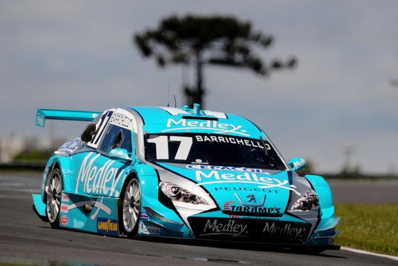 Barrichello em Curitiba
