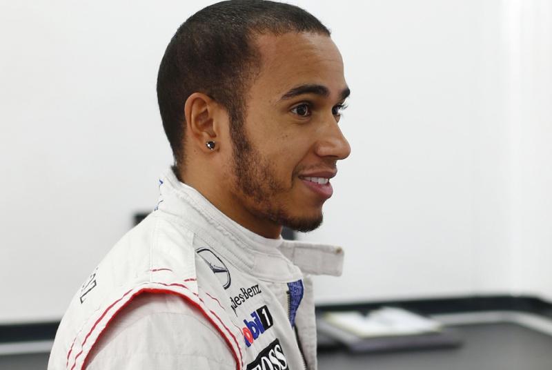 Lewis durante GP da Coreia