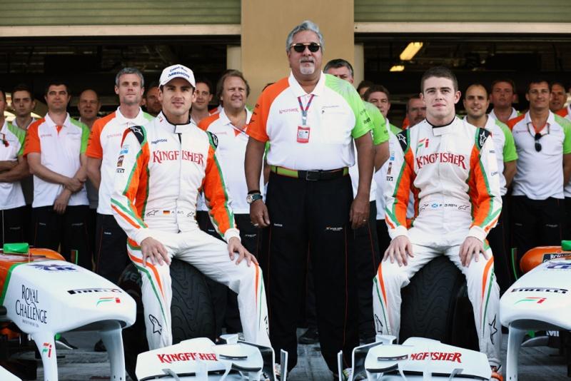 Sutil, Di Resta e Mallya. Time de 2011 pode se repetir em 2013