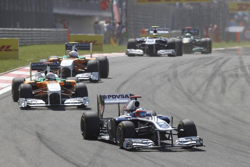 Sem asa nova, Williams perdia 12km/h para os mais rápidos em reta