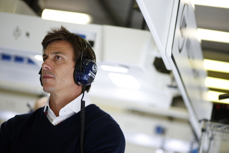 Toto Wolff na Bélgica