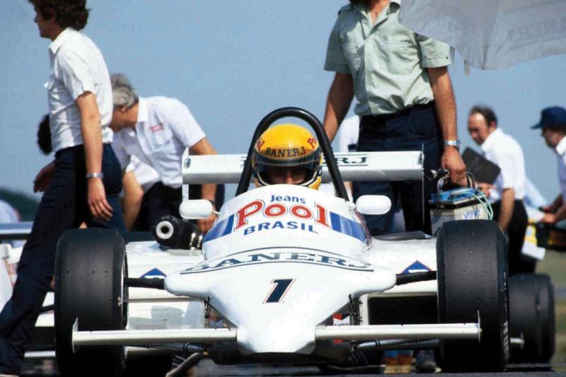 Ayrton Senna na Fórmula 3 inglesa