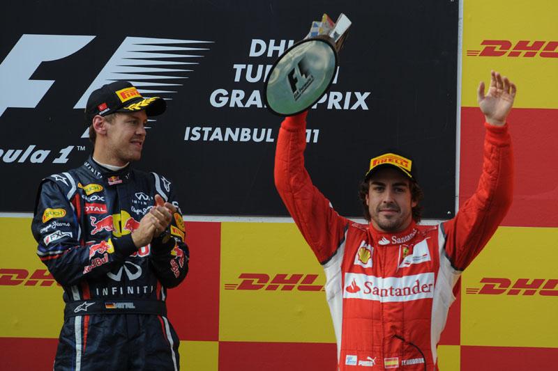 Alonso está a 52 pontos de Vettel