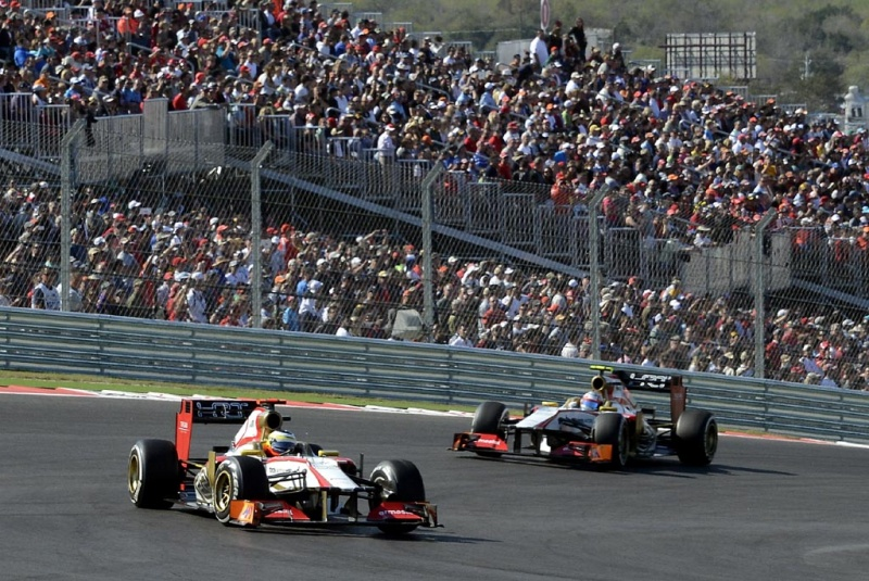 De la Rosa e Narain no GP dos EUA