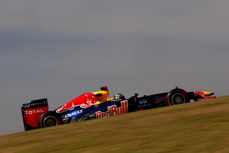 Vettel nesta sexta-feira em Interlagos
