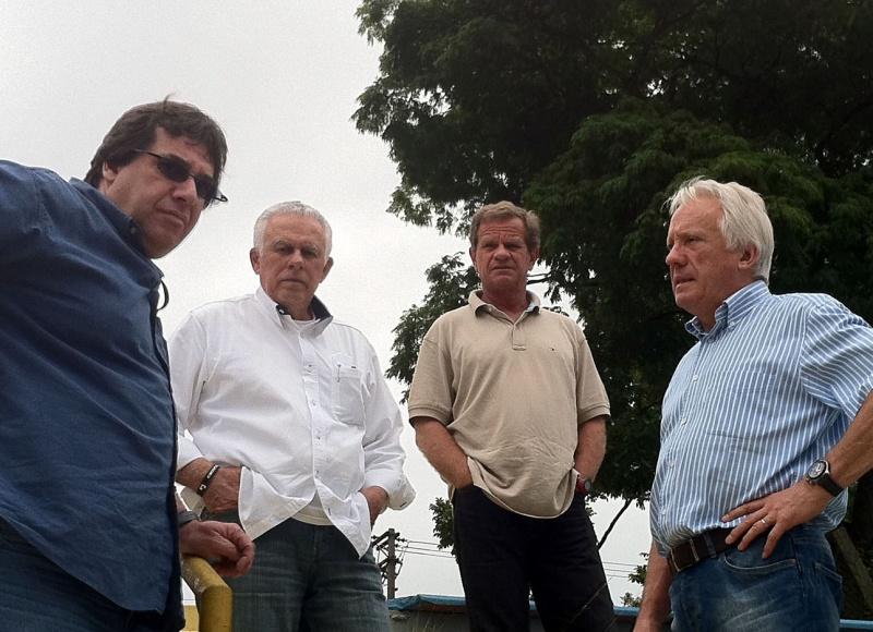 Guazzelli, Pinteiro, Hoffmann e Whiting em Interlagos