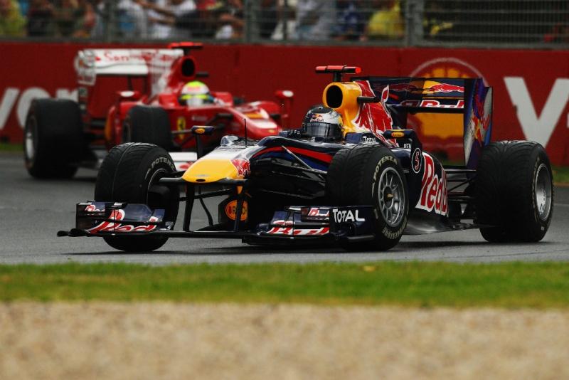 Massa e Vettel, em disputa na Austrália