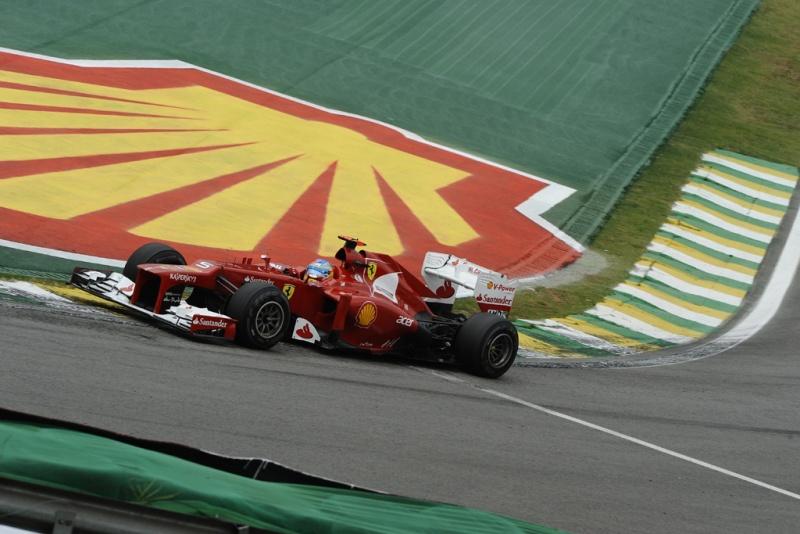 Alonso em Interlagos