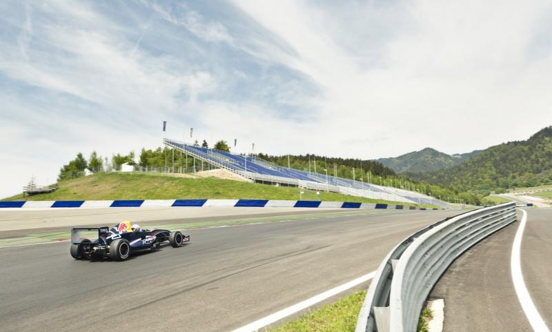 O traçado do Red Bull Ring é o mesmo utilizado pela F-1 entre 1997 e 2003