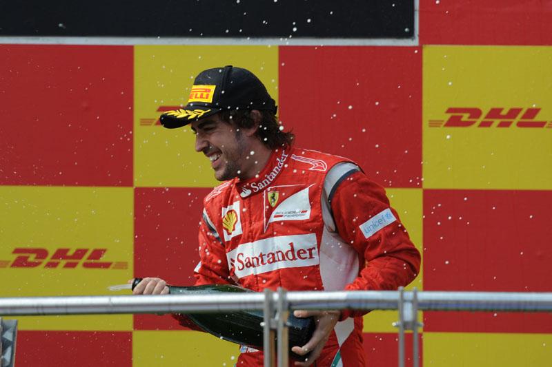 Alonso é quinto colocado no campeonato, com 41 pontos