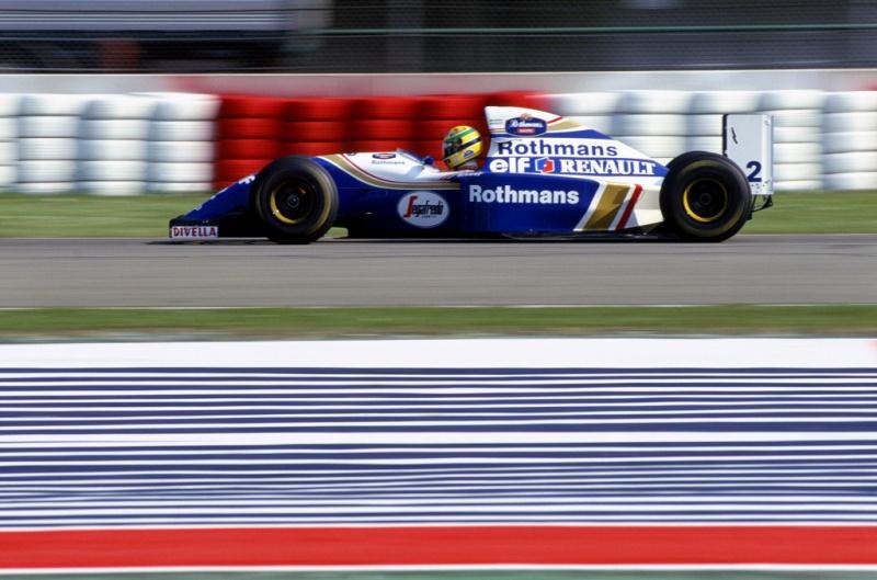 Ayrton Senna durante o GP de San Marino de 1994